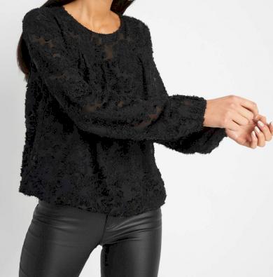 Černá halenka Orsay