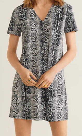 Dámské krátké šaty s knoflíky