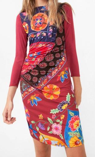 Desigual dámské barevné šaty