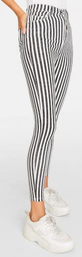Stradivarius pruhované kalhoty
