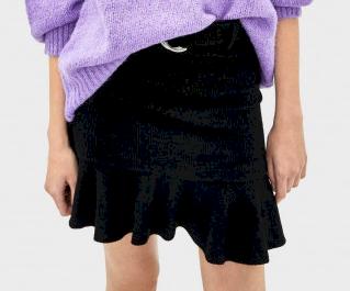 Dámská úpletová sukně Bershka