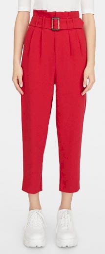 Stradivarius červené kalhoty