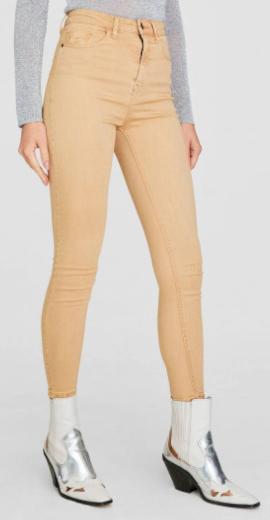 Dámské béžové jeans Stradivarius