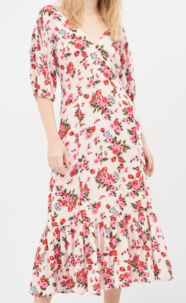 Stradivarius květované šaty