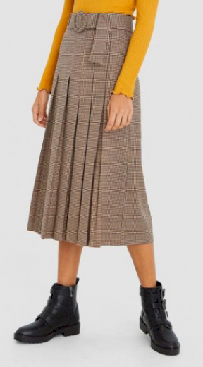 Stradivarius kalhotová sukně