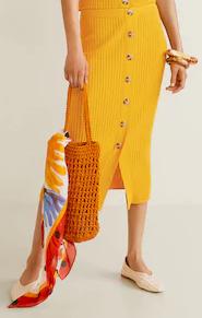 Dámská úpletová sukně Mango