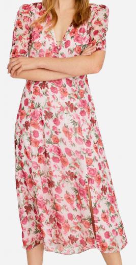 Květované šaty Stradivarius