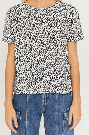 Dámské triko s potiskem Tally Weijl