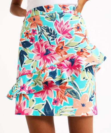 Dámská květovaná sukně Pimkie
