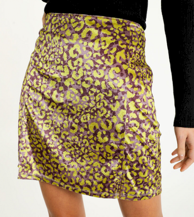 Dámská sukně s leopardím vzorem Pimkie