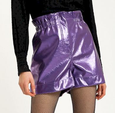 Dámské koženkové šortky Pimkie