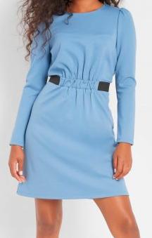 Dámské modré šaty Orsay