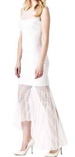 Guess šaty bílé