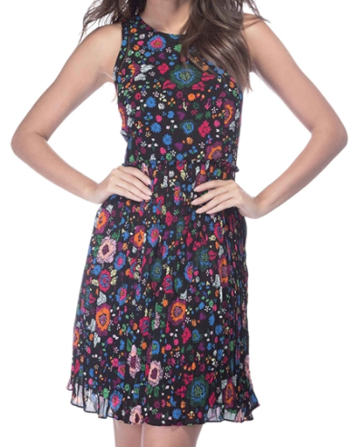 Dámské pestrobarevné šaty Guess