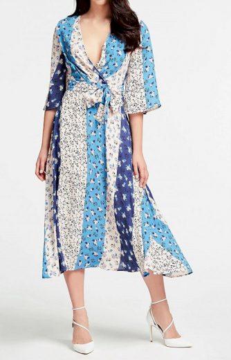 Guess modré šaty