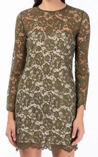 Dámské krajkované šaty Guess