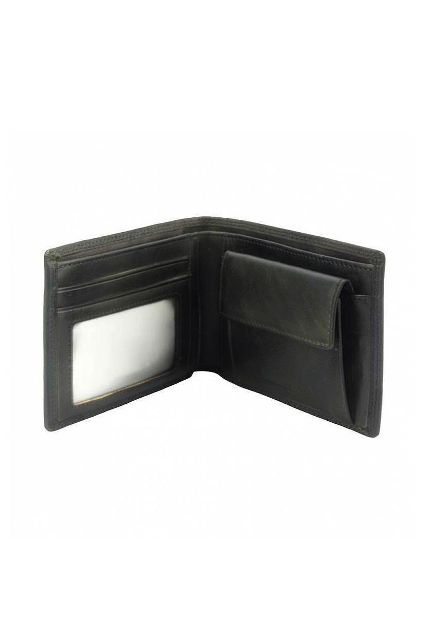 Jednoduchá peněženka z kůže