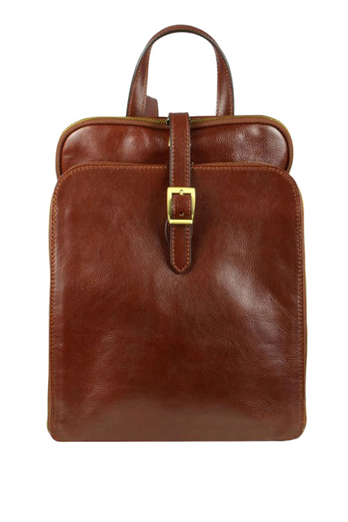 Celokožený retro batoh Premium
