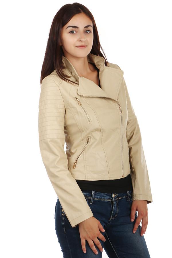 Dámská koženková bunda- křivák