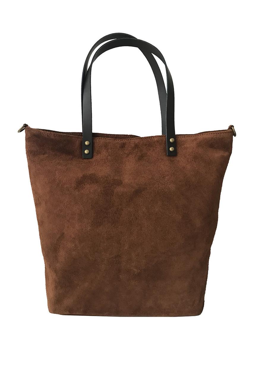 Semišová tote kabelka
