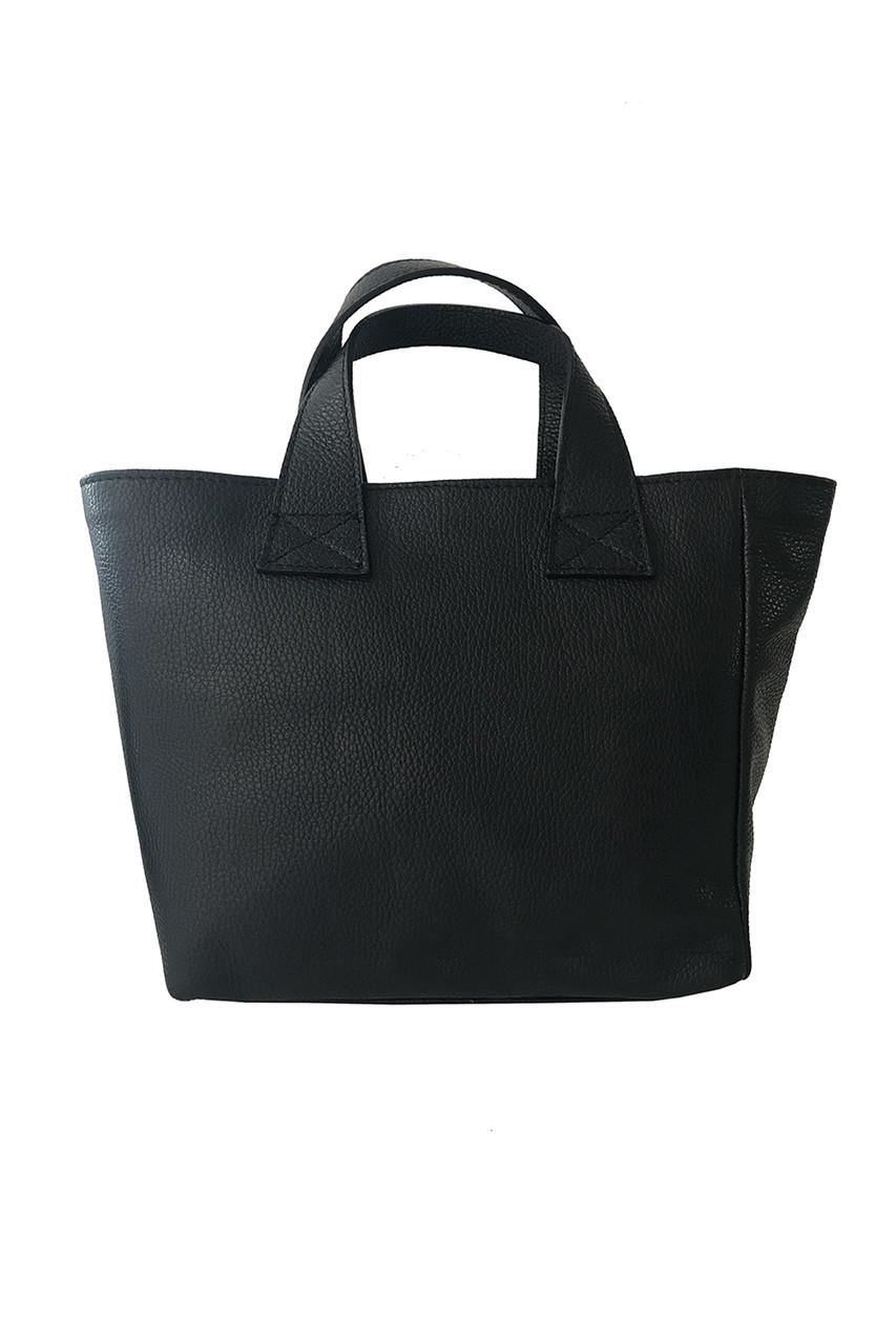 Kožená shopper kabelka