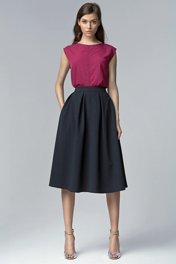 Áčková dámská business sukně