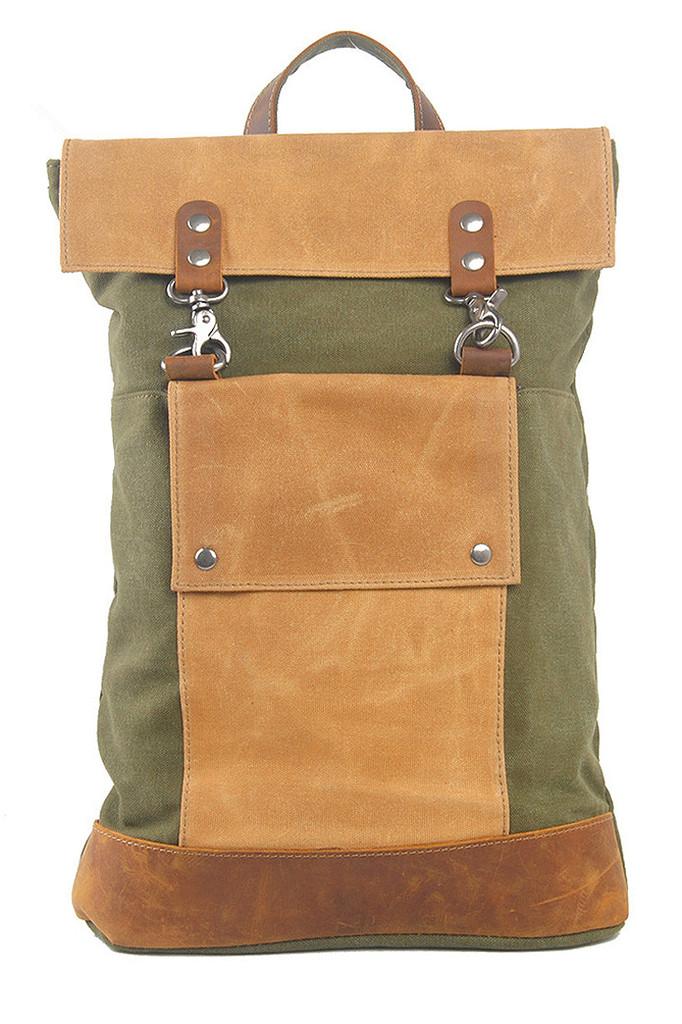 Vintage plátěný batoh
