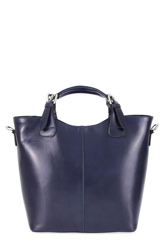 Dámská městská taška z pravé kůže