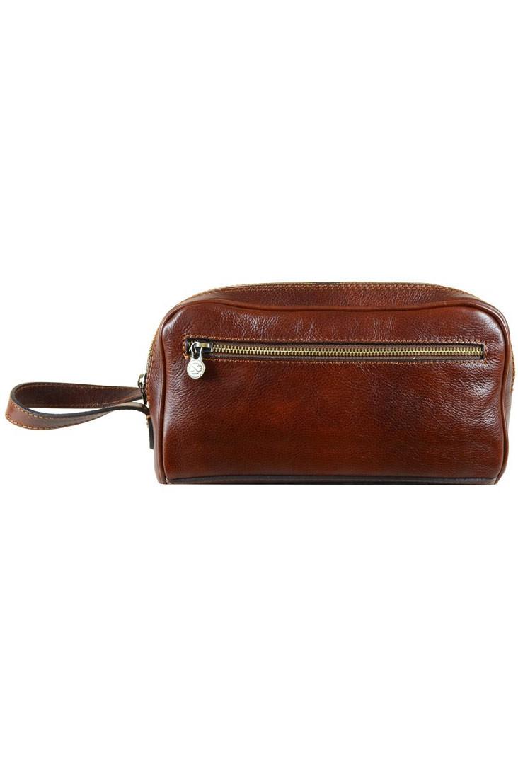 Kosmetická taška z luxusní kůže