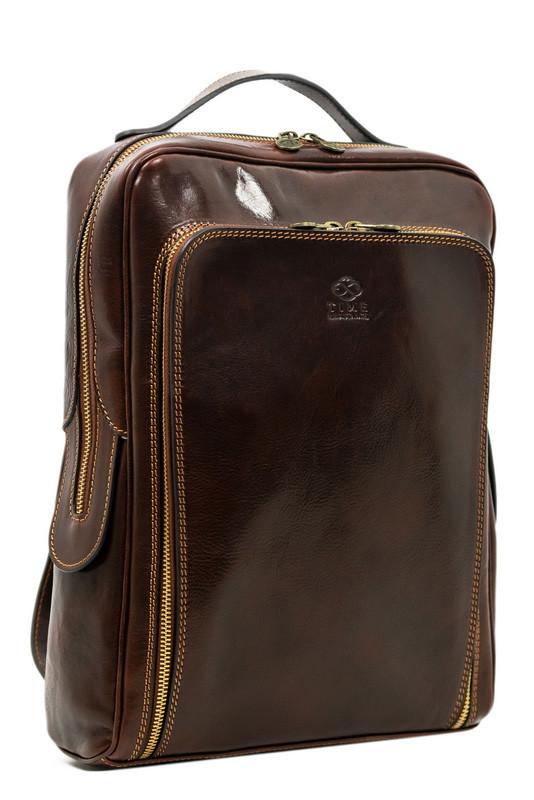 Nadčasový batoh z pravé kůže Premium
