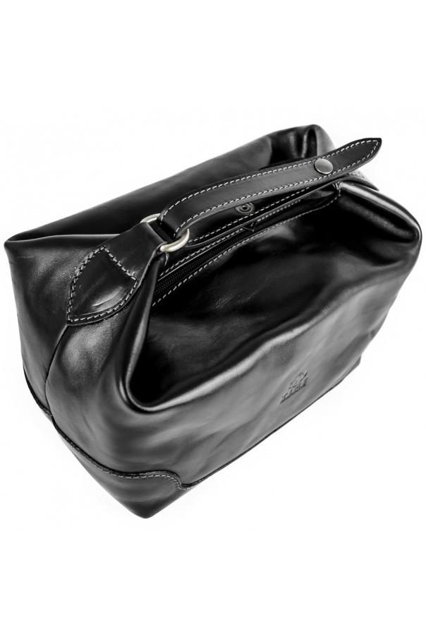 Luxusní kožená kosmetická taška pro náročné