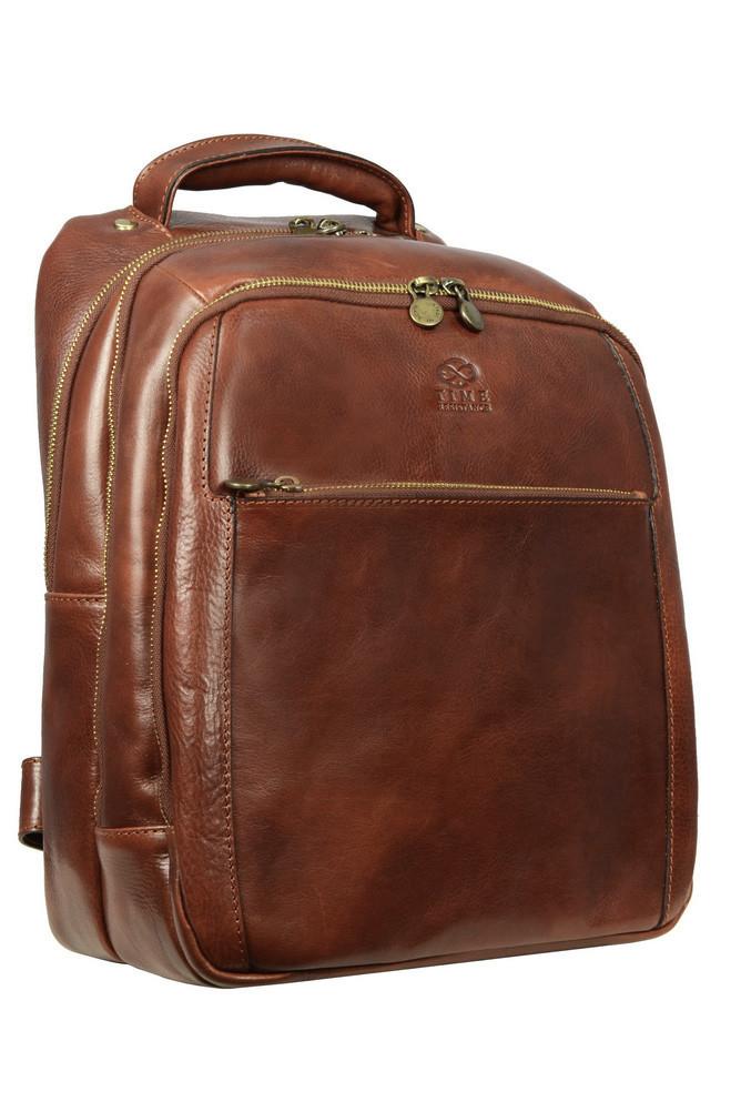 Kožený business batoh Premium collection
