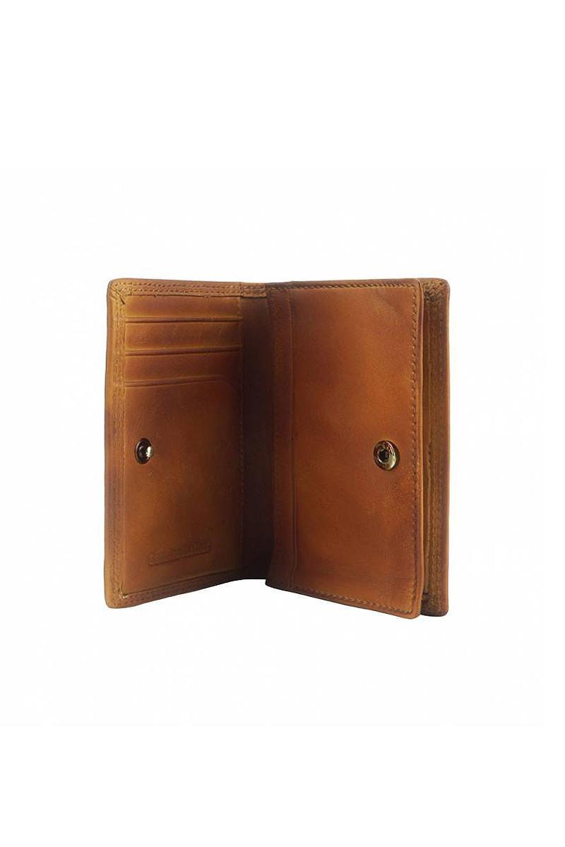 Kožené pouzdro na mince a karty