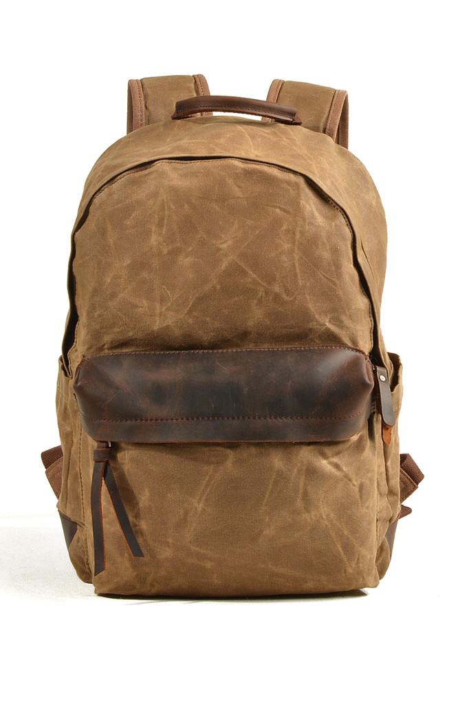 Městský plátěný batoh