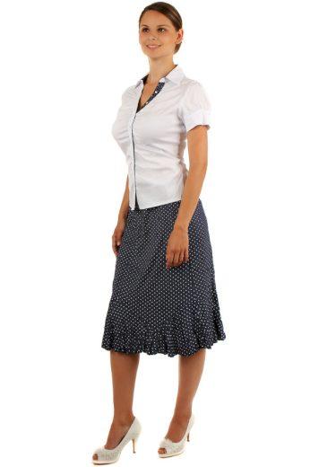 Dámská elegantní košile - krátký rukáv