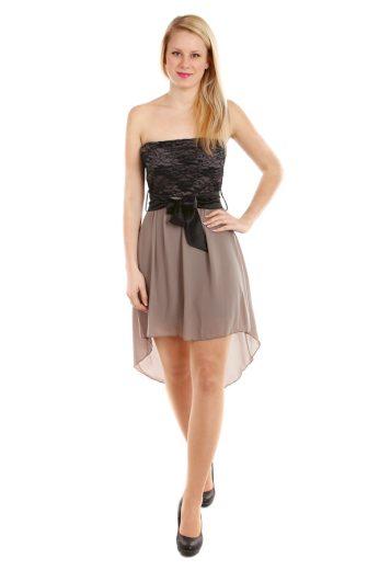 Asymetrické šaty s krajkou