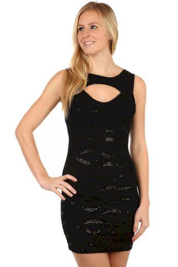 Dámské mini šaty s flitry