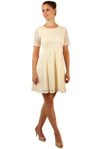 Romantické krajkované šaty