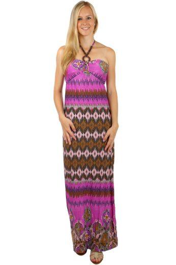 Dlouhé vzorované šaty