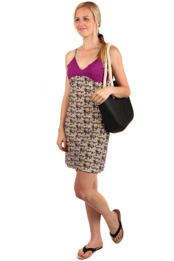 Barevné letní plážové šaty