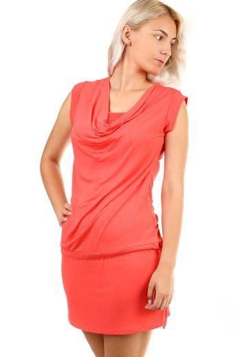 Jednobarevné šaty pro sport i volný čas