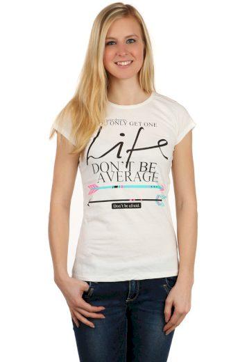 Dámské tričko s nápisem