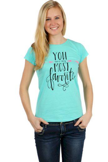 Stylové dámské tričko
