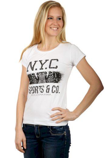 Dámské tričko s nápisy