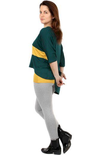 Oversized tričko v kombinaci s tílkem - i pro plnoštíhlé