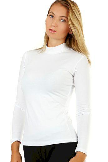 Dámské bavlněné tričko se stojáčkem