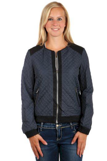 Dámská prošívaná bunda na zip