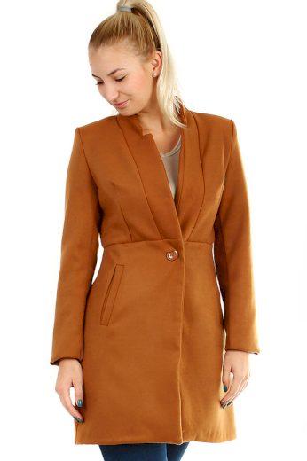 Dámský přechodný áčkový kabát
