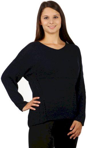 Dámský svetr se vzorem na zádech