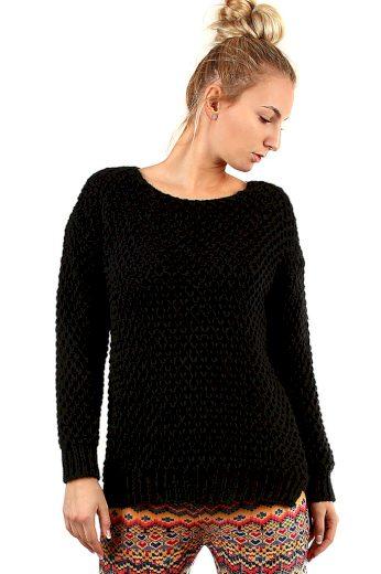 Dámský pletený černý svetr